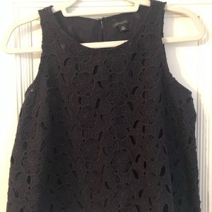 Ann Taylor flouncy crop top.